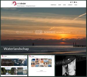 Impressie nieuw design Beeldvlinder.nl