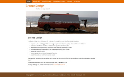 Screenshot Bronze Design