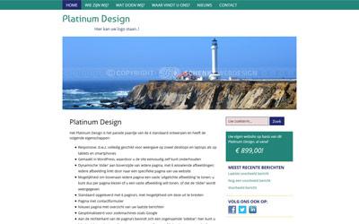 Screenshot Platinum Design
