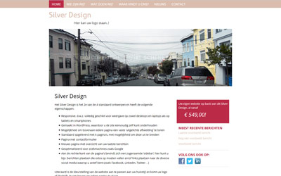 Screenshot Silver Design