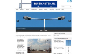 Screenshot website Buismasten.nl