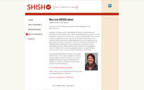 Screenshot website SHISHO