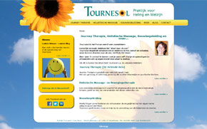 Screenshot website Praktijk Tournesol